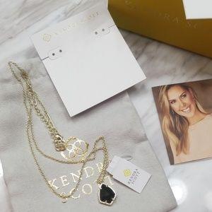 Kendra Scott Jewelry - KENDRA SCOTT I Cory Pendant Necklace in Gold